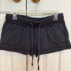 Black Cotton Beach or Lounge Shorts